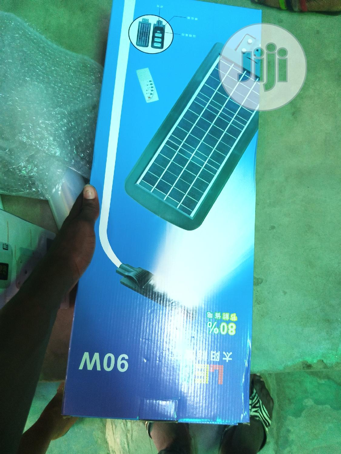 All In One Solar Street Light 90watt With Sensor | Solar Energy for sale in Ojo, Lagos State, Nigeria