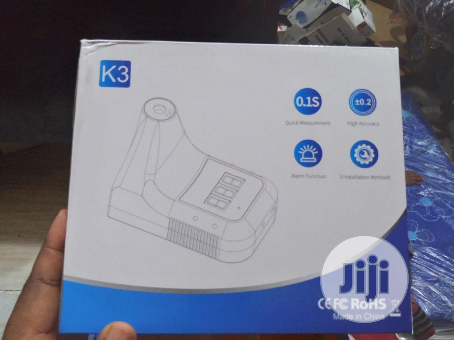 K3 Wall Mounted Thermometer New Brand | Medical Equipment for sale in Yaba, Lagos State, Nigeria