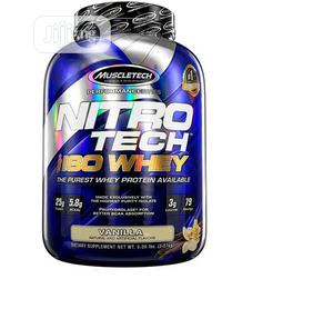 Muscletech Nitrotech Iso Whey Isolate Protein Powder 5LBS Va   Vitamins & Supplements for sale in Lagos State, Amuwo-Odofin