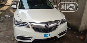 Acura MDX 2015 4dr SUV (3.5L 6cyl 6A) White | Cars for sale in Lagos State, Apapa