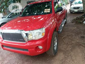 Toyota Tacoma 2008 PreRunner Red | Cars for sale in Abuja (FCT) State, Wuse 2