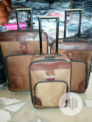 Bumper Trolley Luggage Box Set 3 | Bags for sale in Lagos State, Isolo