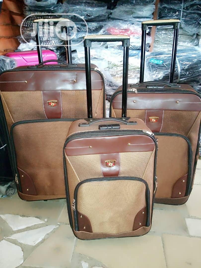 Bumper Trolley Luggage Box Set 3