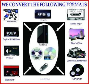 Vhs To Disc (Digital Conversion)   Photography & Video Services for sale in Lagos State, Yaba