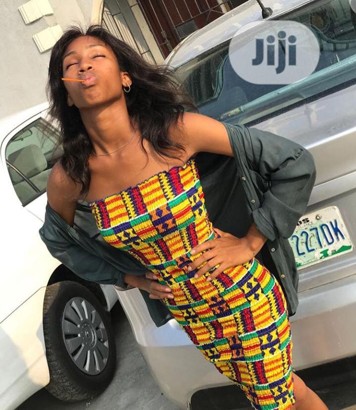 Ruffle Tube Dress   Clothing for sale in Amuwo-Odofin, Lagos State, Nigeria