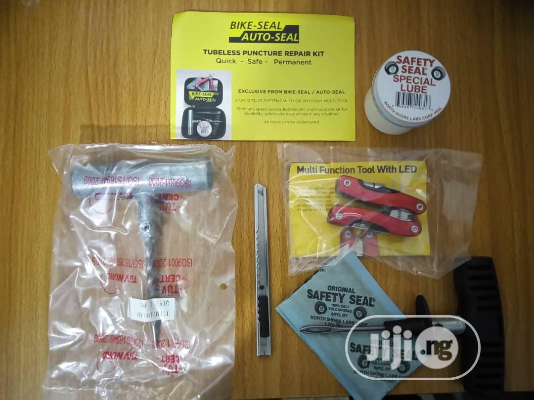Auto-seal Tubeless Puncture Repair Kit