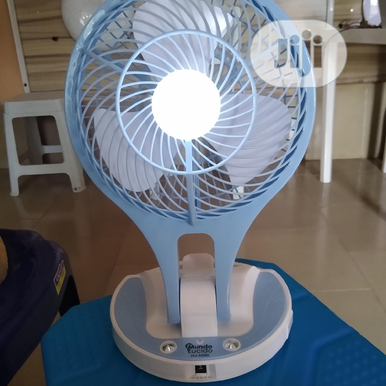 Desktop Rechargeable Fan