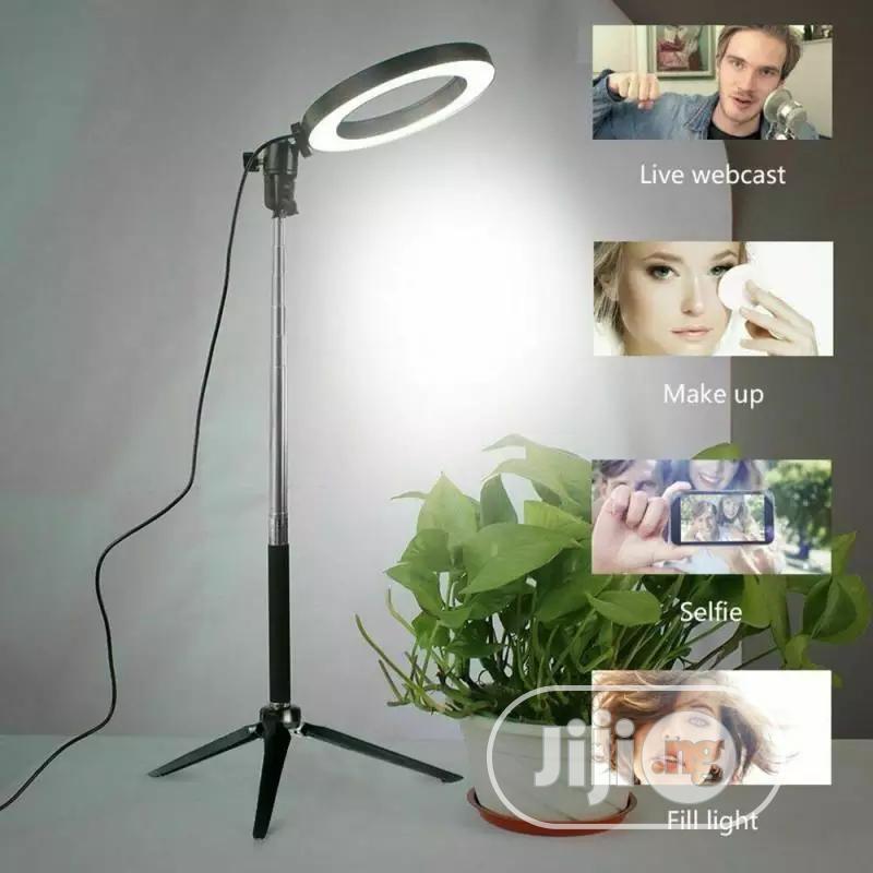 LED Selfie Ring Light Dimmable LED Ring Lamp