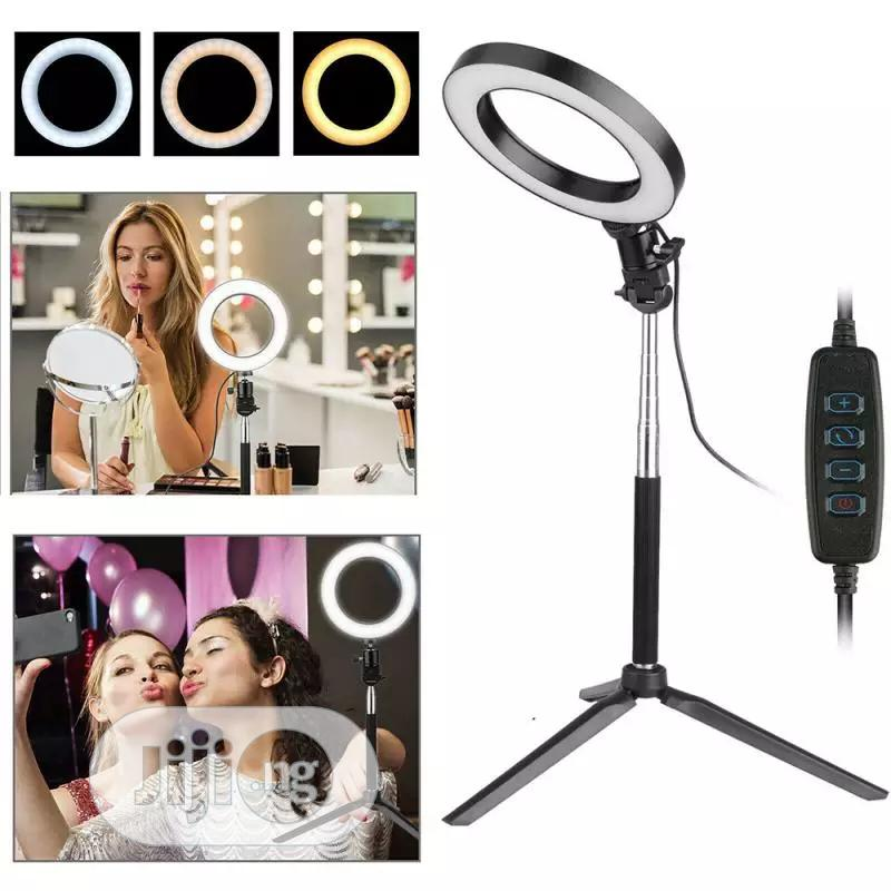 LED Selfie Ring Light Dimmable LED Ring Lamp | Accessories for Mobile Phones & Tablets for sale in Lagos Island (Eko), Lagos State, Nigeria