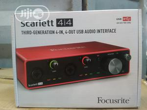 Scarlett 4i4 3rd Generation   Audio & Music Equipment for sale in Lagos State, Ojo