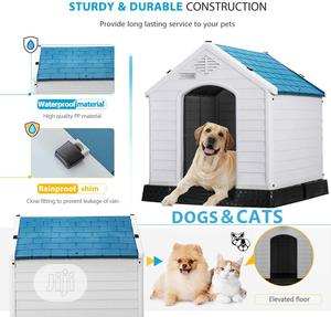 Dog Plastic House   Pet's Accessories for sale in Lagos State, Alimosho