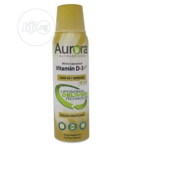 Aurora Micro Liposoma Vitamin D 3 + 3,000 IU W Vitamin C 5.0