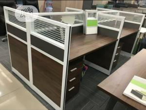 Workstation By Seater With Mobile Drawer | Furniture for sale in Lagos State, Lekki
