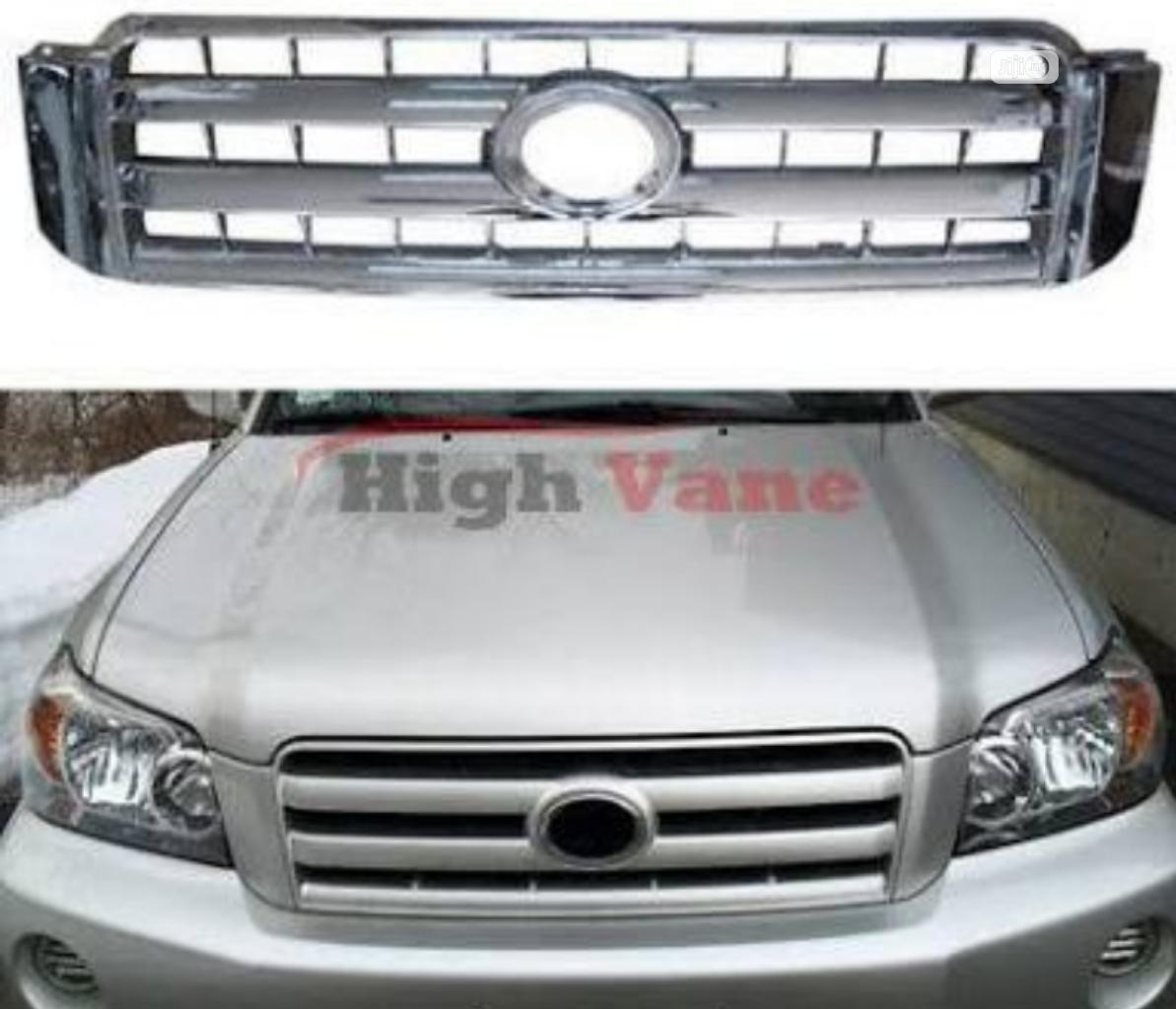 Toyota Highlander Front Grill 2006 In Ojo Vehicle Parts Accessories Extra Car Accessories Ng Jiji Ng