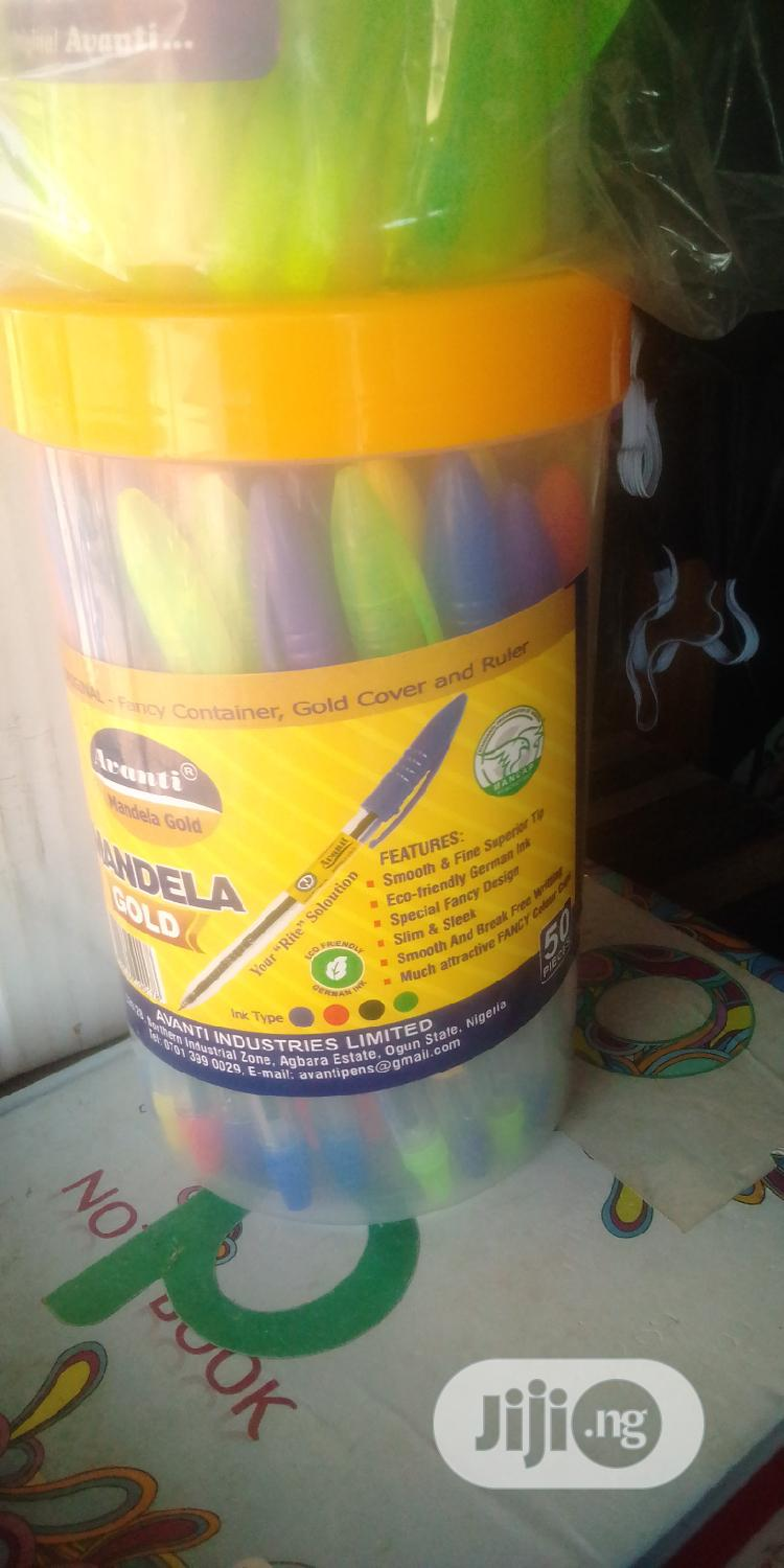Archive: Pack of Pens (50 Pieces)