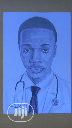 Real Pencil Portrait (Artwork)   Arts & Crafts for sale in Lagos State, Ogba