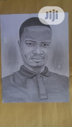 Very Fine Pencil Portrait (Artwork)   Arts & Crafts for sale in Abuja (FCT) State, Garki 1
