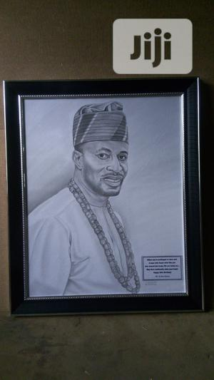 Really, Fine Pencil Portrait ( Elegant Artwork)   Arts & Crafts for sale in Abuja (FCT) State, Garki 2