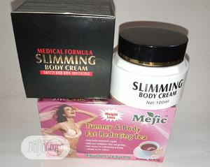 Slimming Cream And Tea | Bath & Body for sale in Lagos State, Surulere