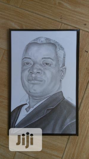 Elegant Pencil Portrait (Artwork)   Arts & Crafts for sale in Abuja (FCT) State, Gwagwa