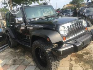 Jeep Wrangler 2011 Unlimited Rubicon Black | Cars for sale in Lagos State, Lekki