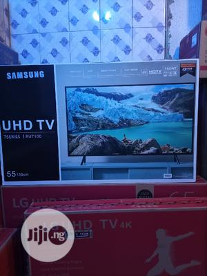 Samsung 55inches Smart Tv 4k With 2 Yrs Warranty | TV & DVD Equipment for sale in Lagos State, Ojo