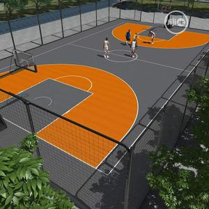 Basketball Court Construction   Building & Trades Services for sale in Lagos State, Isolo