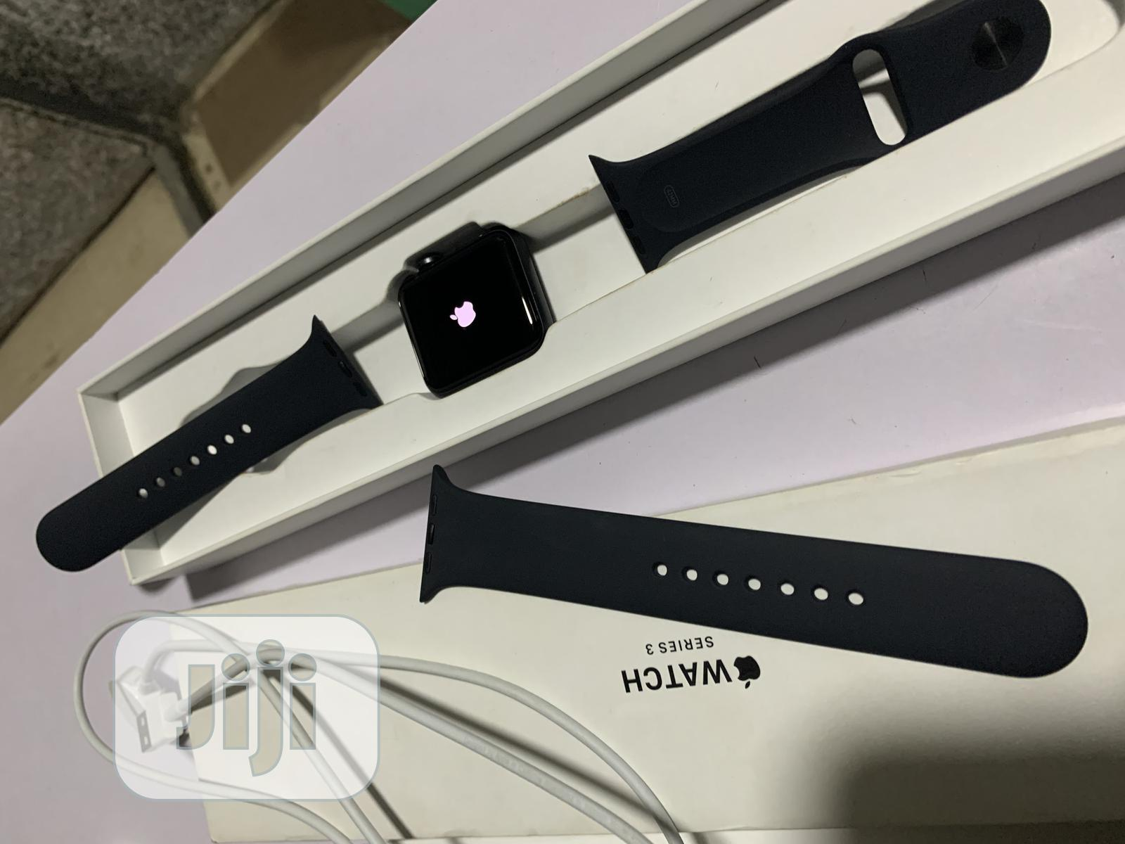 Apple Watch Series 3 42mm | Smart Watches & Trackers for sale in Ikeja, Lagos State, Nigeria