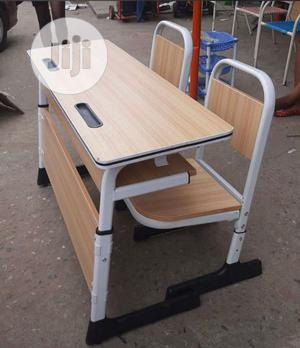 Newly Imported 2 in 1 Students Reading Table and Chair | Furniture for sale in Lagos State, Ikeja