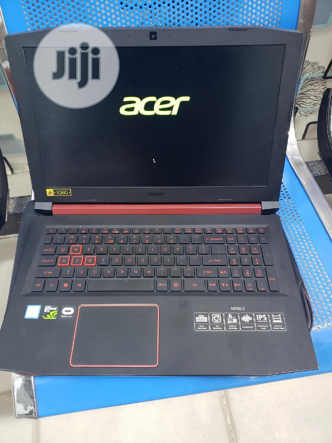 Laptop Acer NITRO 5 8GB Intel Core I5 SSD 256GB | Laptops & Computers for sale in Ikeja, Lagos State, Nigeria
