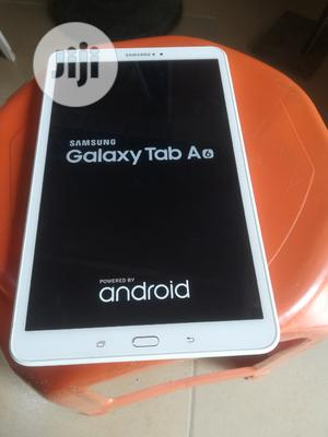 Samsung Galaxy Tab a 9.7 16 GB White   Tablets for sale in Lagos State, Ikeja