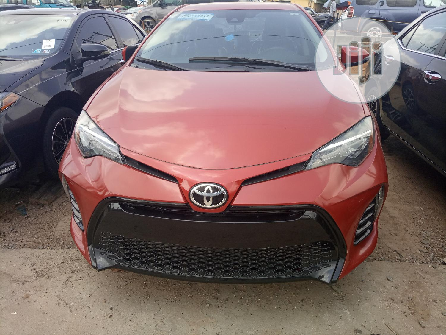 Toyota Corolla 2017 Red | Cars for sale in Apapa, Lagos State, Nigeria