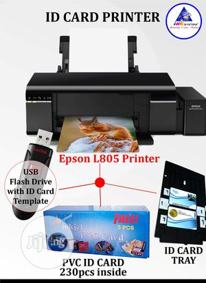 EPSON L805 Printer For Direct ID Card Printing / Photo /Cd | Printers & Scanners for sale in Lagos State, Ikeja