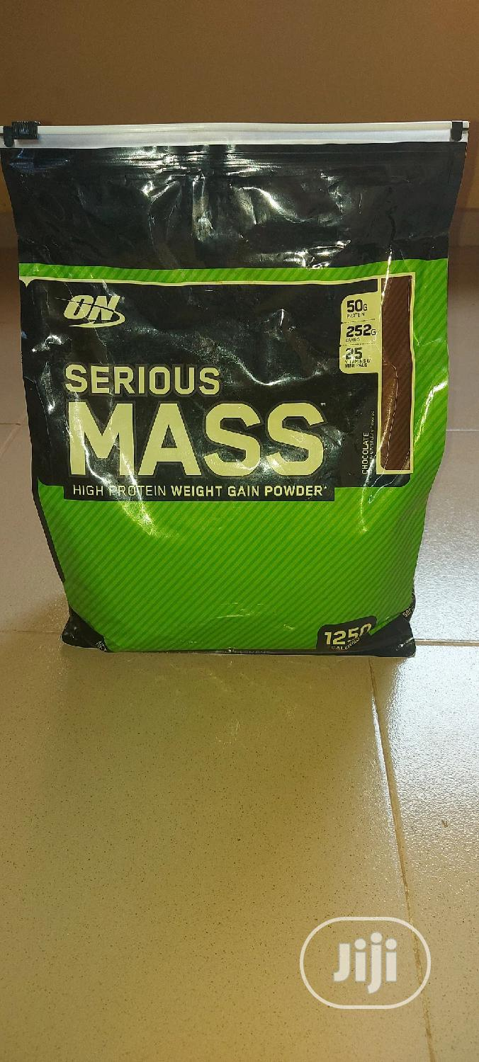 Archive: On Serious Mass 12lbs