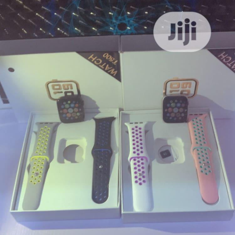 T500 Smart Watch With-double Strap   Smart Watches & Trackers for sale in Ikeja, Lagos State, Nigeria