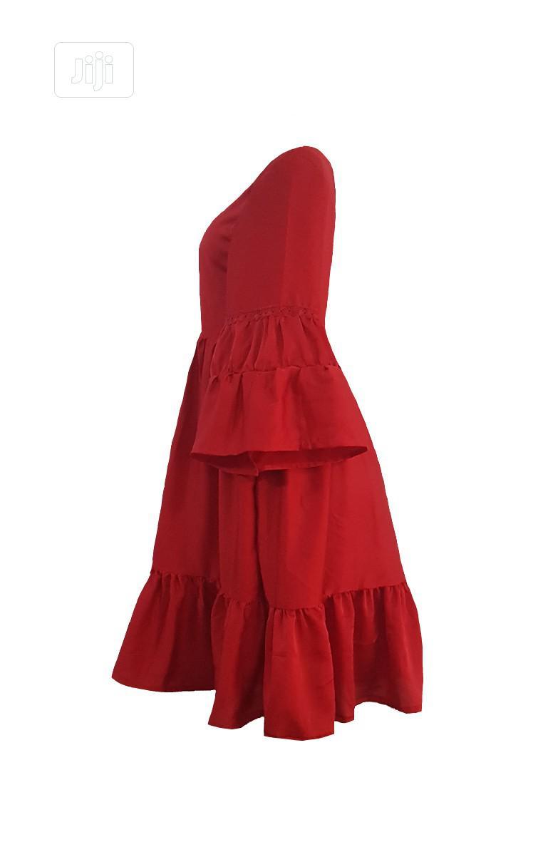 Beautiful Red Gypsy Dress