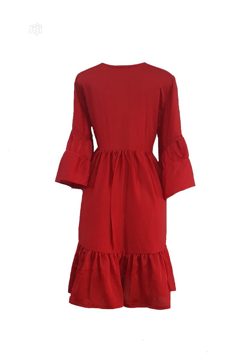 Beautiful Red Gypsy Dress   Clothing for sale in Gbagada, Lagos State, Nigeria