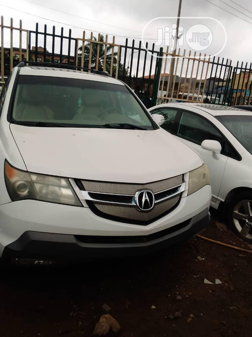 Acura Mdx 2009 White In Alimosho Cars Rasaq Rabiu Jiji Ng For Sale In Alimosho Buy Cars From Rasaq Rabiu On Jiji Ng