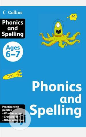 Collins Phonic And Spelling Age 6-7 | Books & Games for sale in Lagos State, Surulere