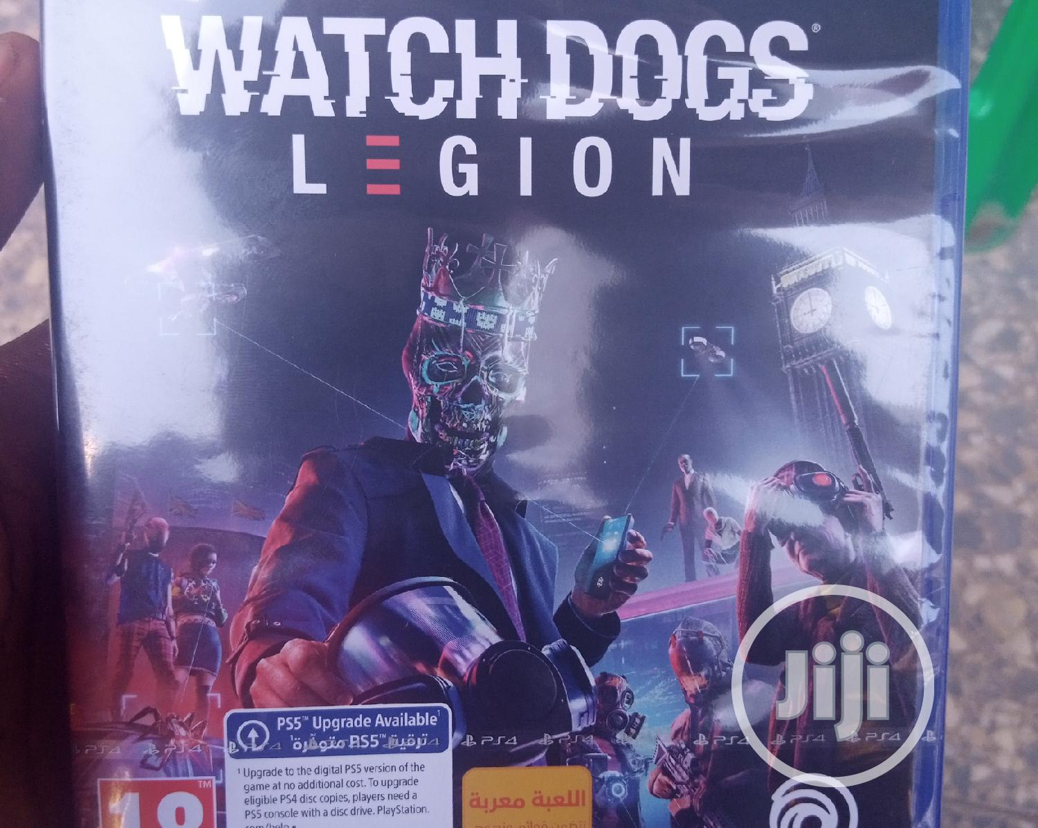Watch Dogs Legion For Playstation 4 In Wuse 2 Video Games Somto Godwin Jiji Ng