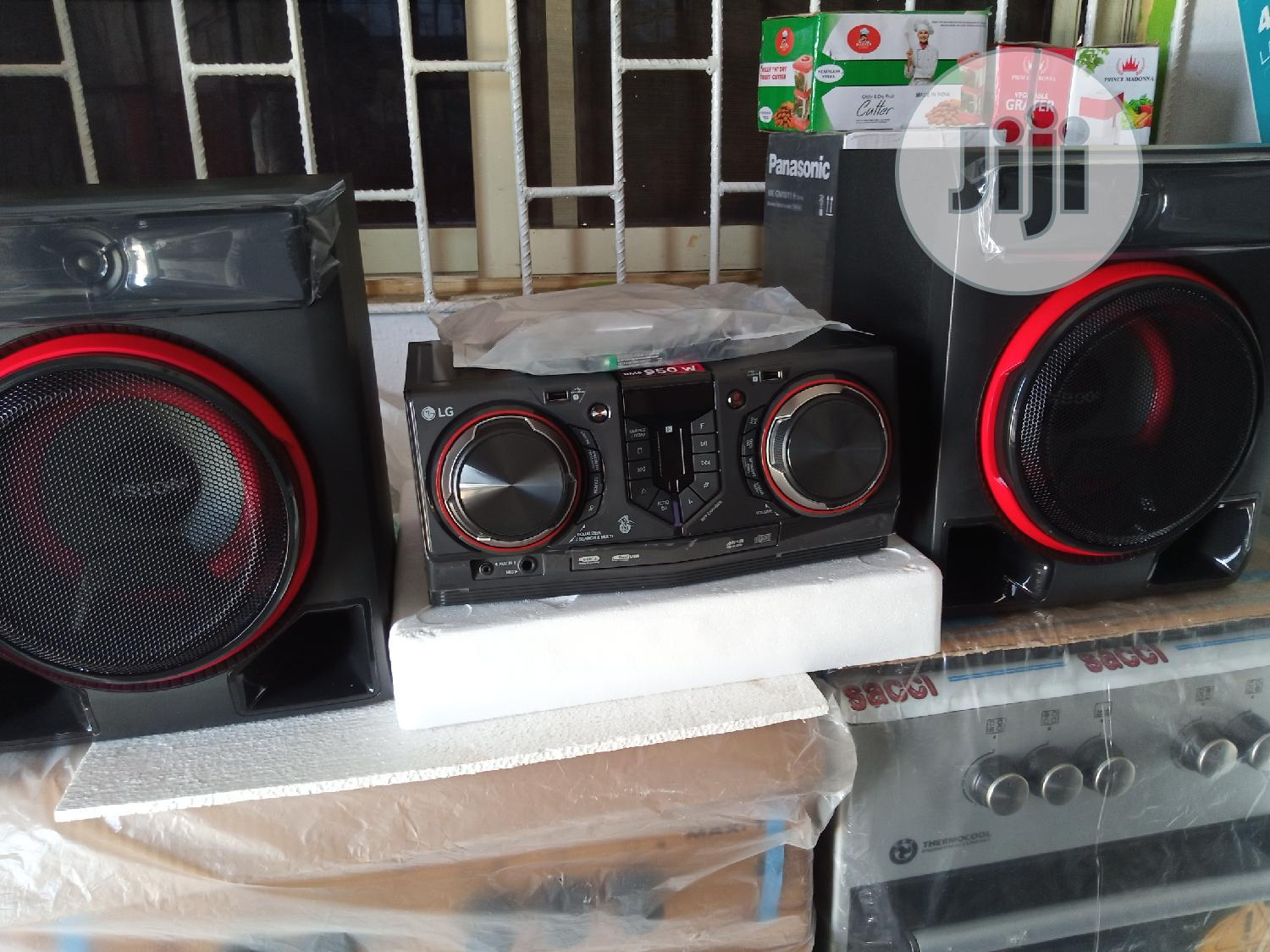 LG XBOOM + 950watt + Mini Hi-fi System