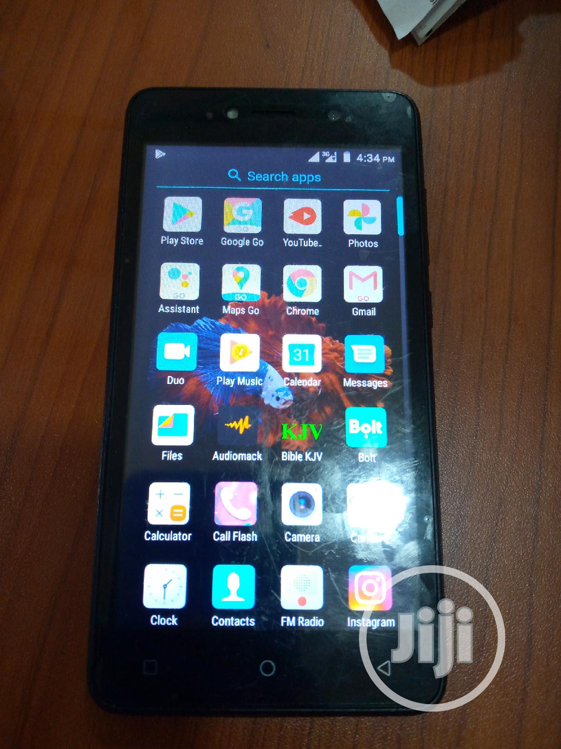 Tecno F1 8 GB Black