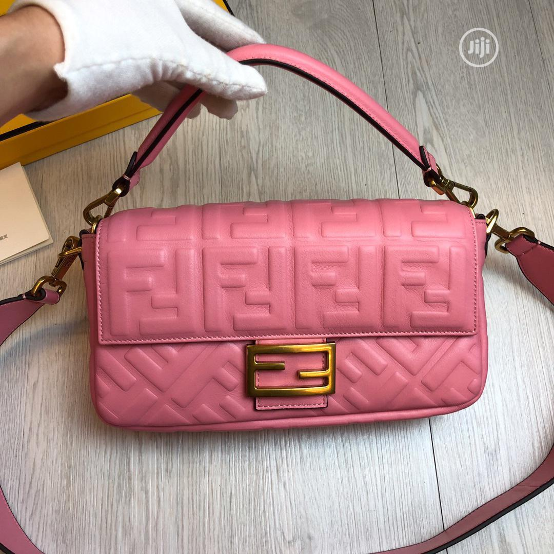 Top Quality Fendi Leather Bag For Females