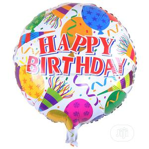 18 Inches Happy Birthday Aluminium Foil Balloons | Party, Catering & Event Services for sale in Lagos State, Lekki