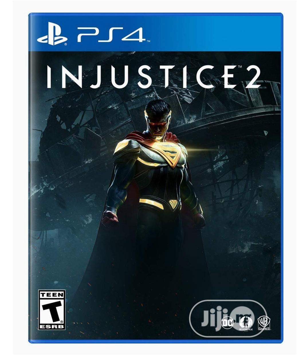 Playstation 4- INJUSTICE 2
