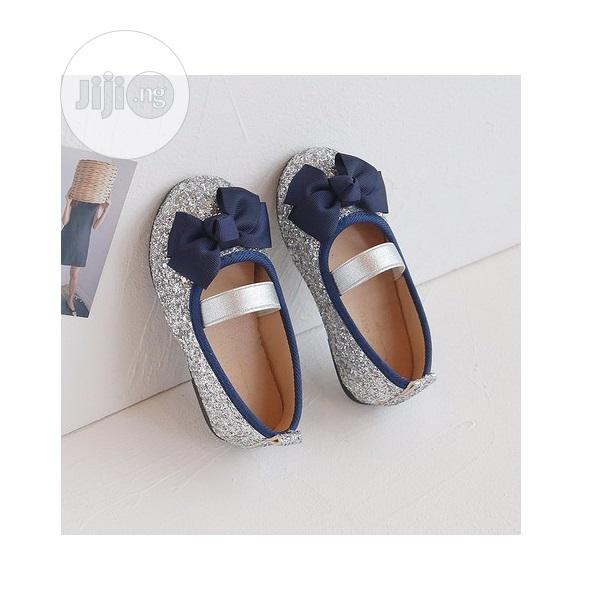 Glitter Ballet Flat - Silver | Children's Shoes for sale in Surulere, Lagos State, Nigeria