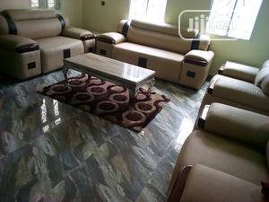 7 Seater Quality Leather Sofa | Furniture for sale in Rivers State, Port-Harcourt