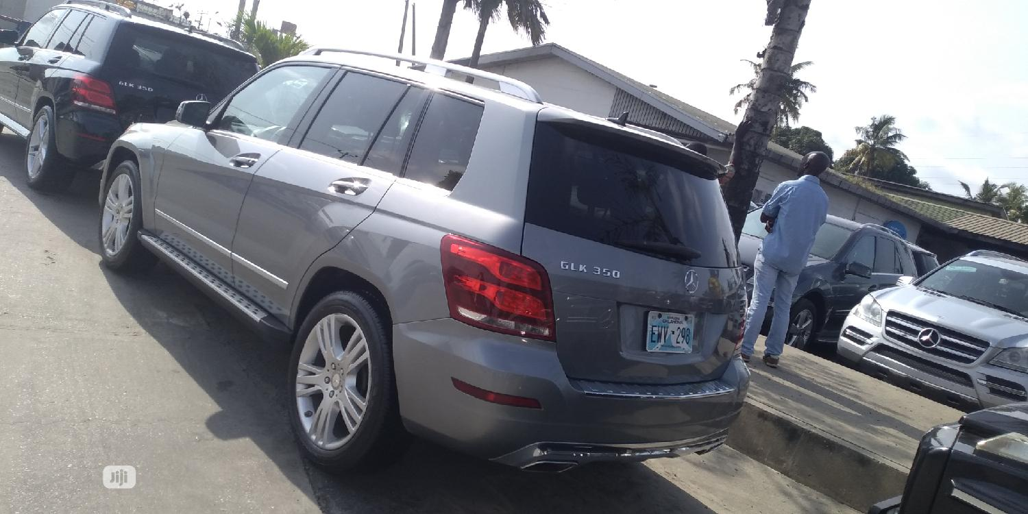 Mercedes-Benz GLK-Class 2012 Gray   Cars for sale in Apapa, Lagos State, Nigeria