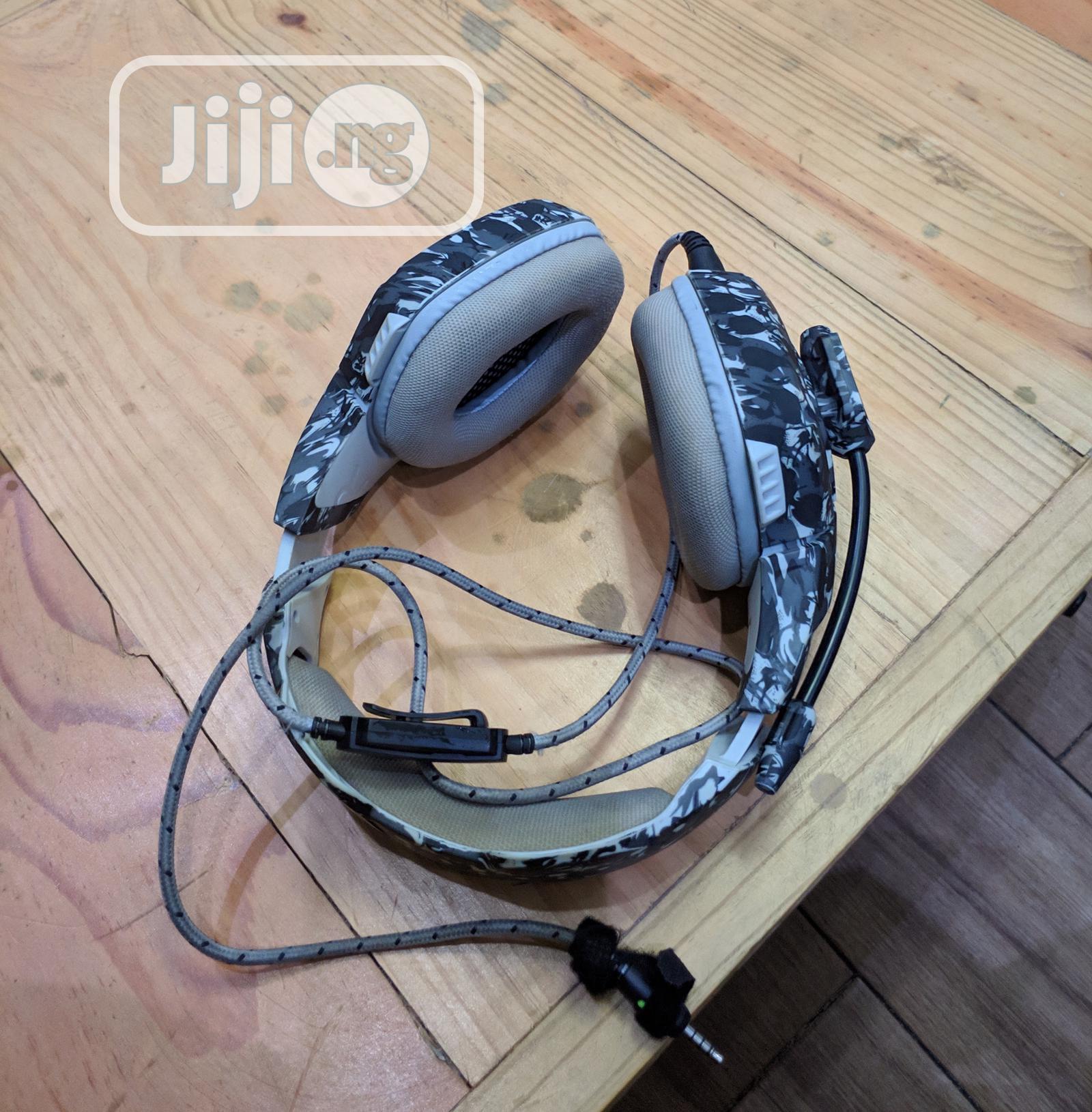 Archive: ONIKUMA K1 Camouflage Bass Gaming Headphones