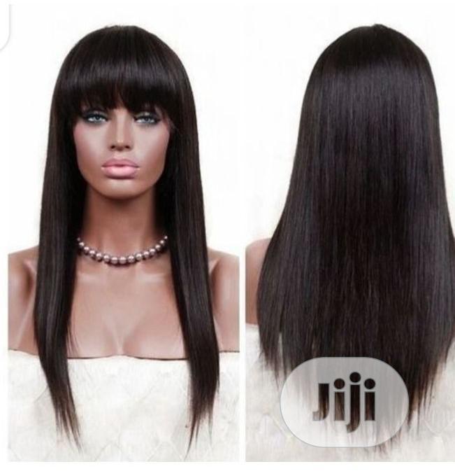 Classic Full Fringe Wig